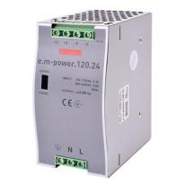 Блок питания на DIN-рейку e.m-power.120.24 120W DC24V i083006 ENEXT