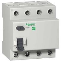 УЗО 40A 100mA 4,5kA тип AC 4 полюса EZ9R54440 Easy9 Schneider Electric